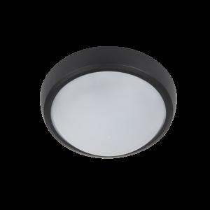 Brled kültéri led kerek lámpa fekete 6W 4000K IP54 - Elmark