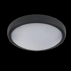 Brled  kültéri led ovális lámpa fekete 6W 4000K IP54 - Elmark