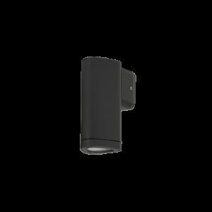 Ol9611-w1 ledes homlokzatvilágtó lámpatest sötétszürke 3W 4000K IP54 - Elmark