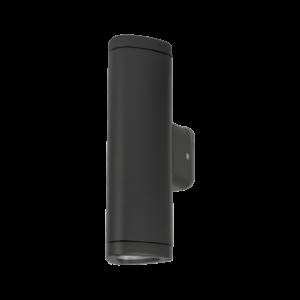 Ol9611-w2 ledes homlokzati lámpatest sötétszürke 2X3W 4000K IP54 - Elmark