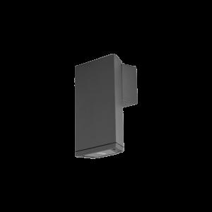 Ledes kültéri homlokzati lámpatest sötétszürke Ol9612-w1 3W 4000K IP54 - Elmark