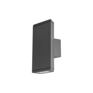 Ol9612-w2 ledes homlokzatvilágító lámpatest sötétszürke 2X3W 4000K IP54 - Elmark