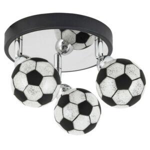 Frankie, spot gyerekszobai lámpa, focis dizájnal, hozzáadott LED G9 fényforrással - Rábalux