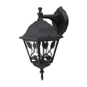 Haga kültéri fali lámpa lefele, fekete - Rábalux