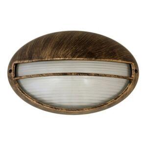 Hektor kültéri lámpa fali E27 100W  a.arany IP44