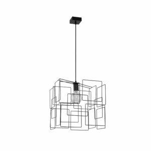 BOX - Jupiter - függeszték lámpa E27/60W - fekete