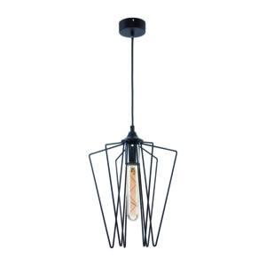 SAO - Jupiter - függeszték lámpa 1xE27/60W/230V - fekete