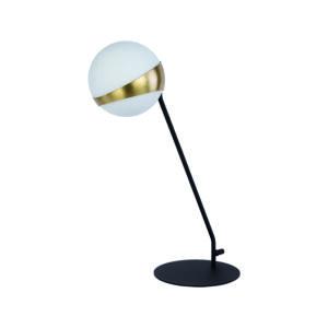 ELFA - Jupiter - asztali lámpa 1xE14/40W/230V - bronz; fekete;fehér