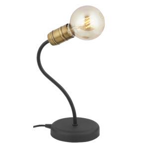 LUCE - Jupiter - Modern Asztali lámpa - fekete, patinás - 1xE27 / 60W, ~ 230V