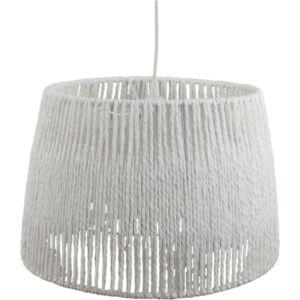 PAPER - Klausen - Kötött stílusú, fehér, papír alapú csillár - papír alapú lámpabúra - fehér - IP20 - 1xE27, 1x11W