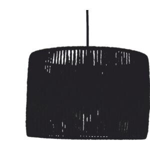 PAPER - Klausen - Kötött stílusú, fekete, papír alapú csillár - papír alapú lámpabúra - fekete - IP20 - 1xE27, 1x11W