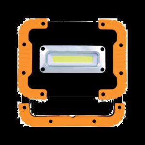 Led Reflektor Akkumulátorral 4Xaa10W - Elmark