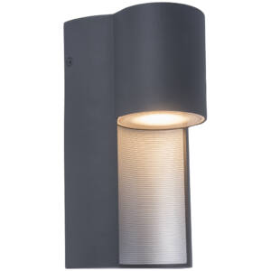 Urban kültéri GU10 fali lámpa 1 light dark grey