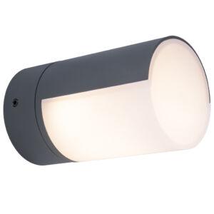 Cyra kültéri LED fali lámpa 1 light dark grey