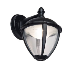 Unite kültéri LED fali lámpa Down 1 light black
