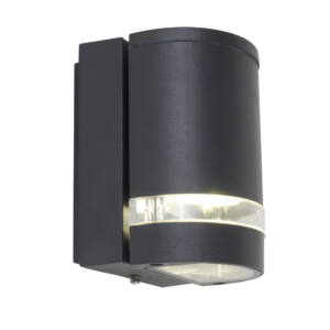 Focus Round kültéri fali lámpa 1 light GU10 dark grey