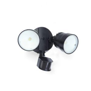 Shrimp II. kültéri LED fali lámpa mozgásérzékelővel 2 light black