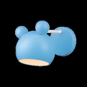 Mickey Fali Lámpa Kék - Elmark