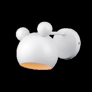 Mickey Fali Lámpa Fehér - Elmark