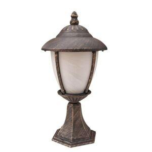 Madrid kültéri lámpa talp41cm E27 60Wa.arany IP43