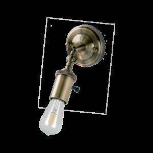 Sailor Fali Lámpa 1Xe27 Antik Bronz - Elmark