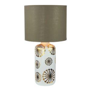 Ginger asztali lámpa max60W barna- Rábalux