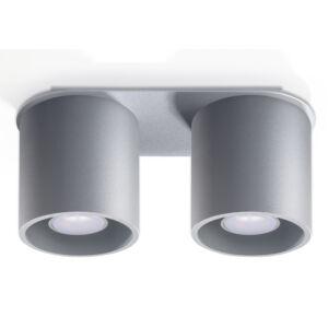 Sollux - Mennyezeti lámpa -  ORBIS 2 szürke