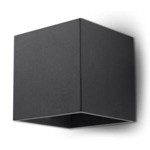 Fali lámpa -  QUAD 1 fekete