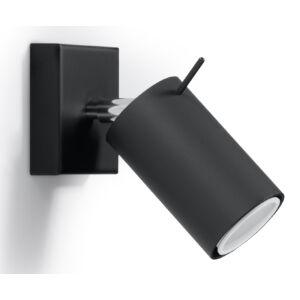 Fali lámpa -  RING fekete