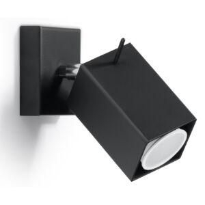 Fali lámpa -  MERIDA fekete