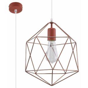 Sollux - Függeszték lámpa - GASPARE réz