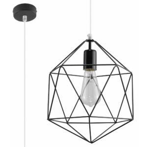 Sollux - Függeszték lámpa - GASPARE Fekete