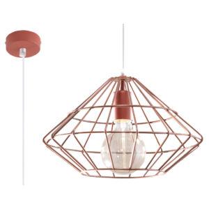 Sollux - Függeszték lámpa - UMBERTO réz