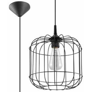 Sollux - Függeszték lámpa - CELTA Fekete
