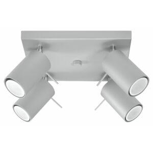 Sollux - Mennyezeti lámpa - RING 4 grey