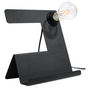 Sollux - Asztali lámpa - INCLINE fekete