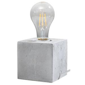 Sollux - Asztali lámpa -szürke- ARIZ concrete