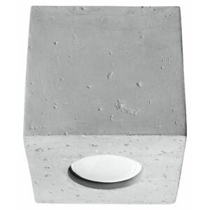 Sollux - Mennyezeti lámpa -  QUAD beton
