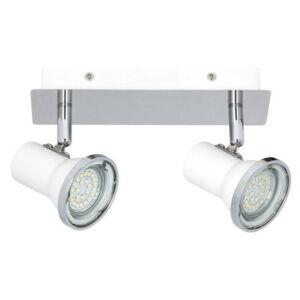 Steve, fürdőszobai lámpa, hozzáadott GU10 LED fényforrással, IP44 - Rábalux