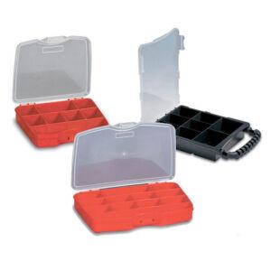 Elmark műanyag rendszerező piros -M16654432