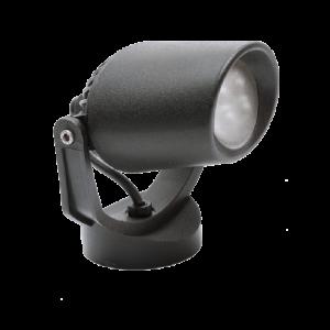 Tommy Mini Kültéri Fali És Mennyezeti Lámpa 1Xgu10 Ip66 Fekete - Elmark