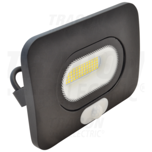 Tracon - SMD fényvető mozgásérzékelővel, fekete