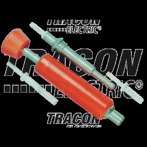 Tracon - Szegecsbeütő szerszámkészlet kábelcsatorna szereléshez