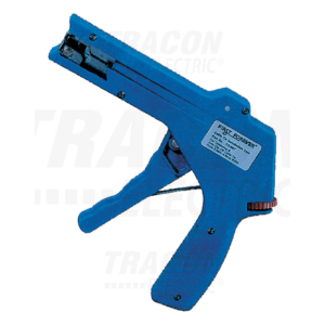 Tracon - Kábelkötegelő feszítő- és vágószerszám,állítható erő,műanyag