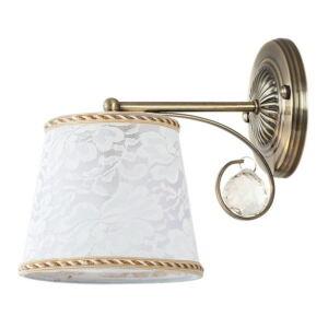 Valerie fali lámpa E14 max 40W bronz - Rábalux
