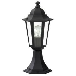Velence kültéri lámpa talp40cmE27 60W fekete IP43