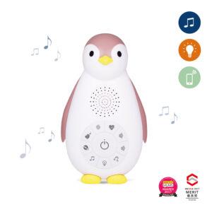 Zazu – Zoe Music Box És Éjjeli Fény (Bluetoothos, Vezeték Nélküli)- rózsaszín