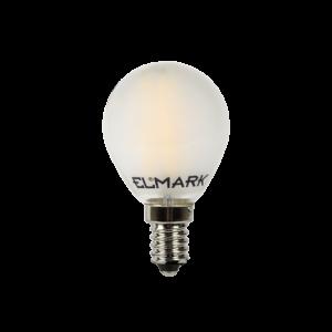 Led Izzó A60 Filament 4W E27 230V 2700K Deres - Elmark