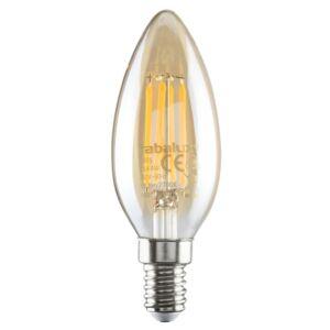 Filament LED izzó  E14 4W, 350 lm, 2700K - Gyertya