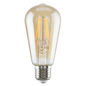 Filament LED izzó ST58 E27 6W, 510 lm, 2700K